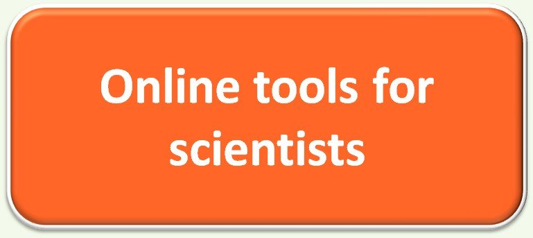 Online tools for scientists