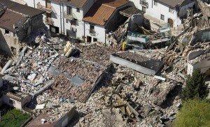 L'Aquila after the earthquake