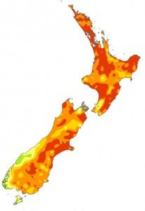 Drought map - soil moisture