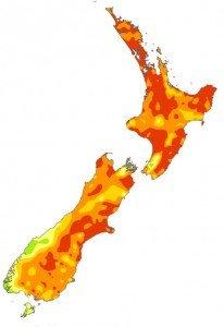 Drought map - soil moisture