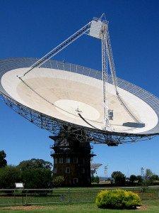 Parkes Telescope in New South Wales, Australia