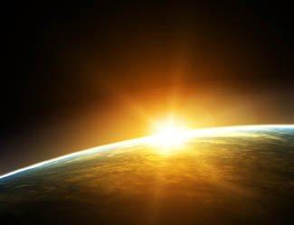 sunrise NASA
