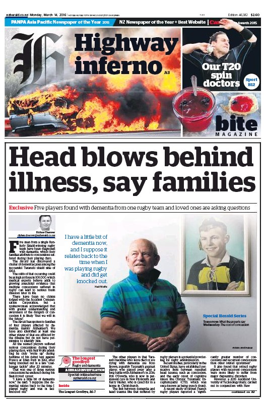 NZH Front page