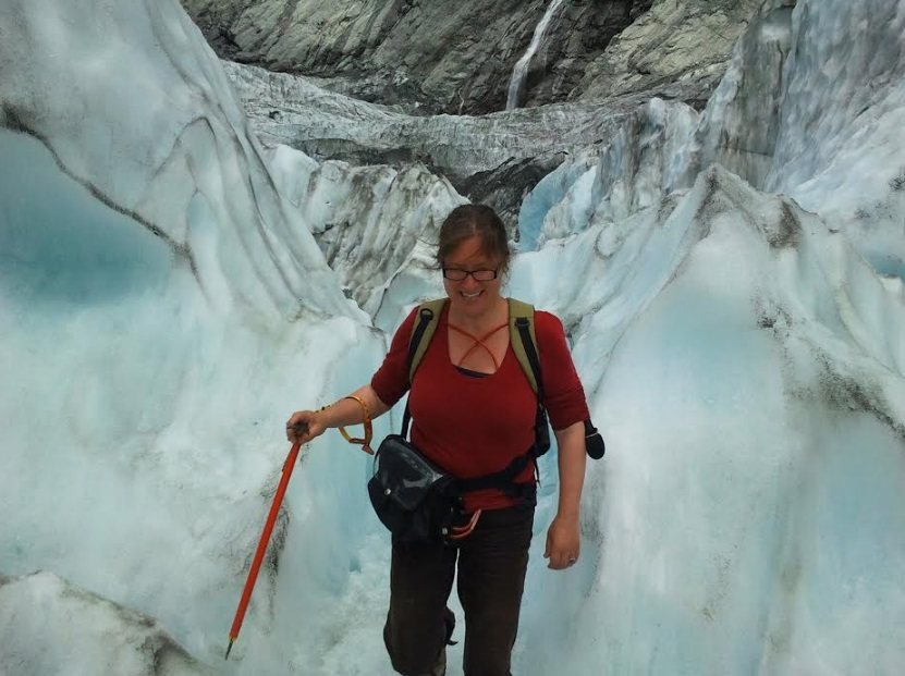 Veronika joins Victoria University glaciologists at Franz Josef glacier on the West Coast as they monitor its rapid retreat.