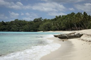 Outrigger Canoes in Vanuatu