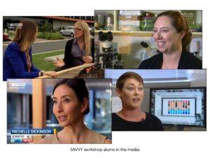 SAVVY alums in media (TV)