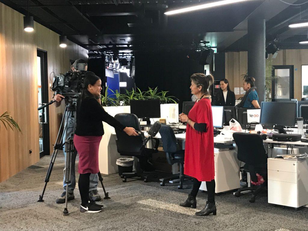 Interview for Te Ao Maori News